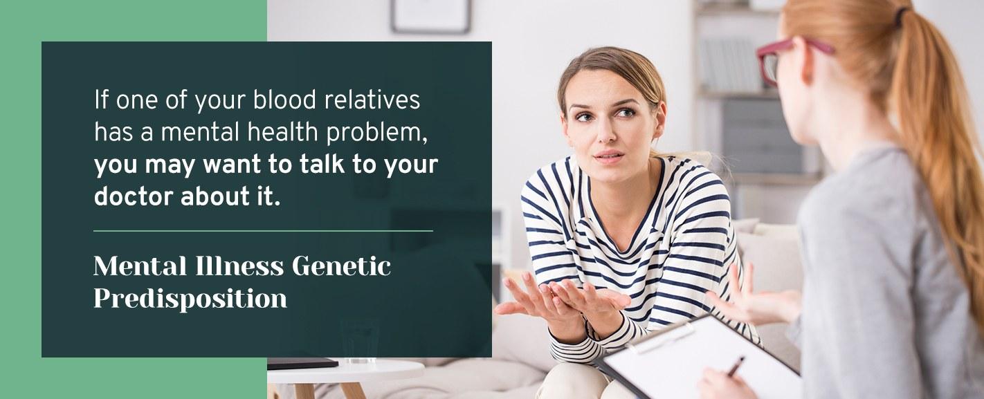 mental illness genetic predisposition