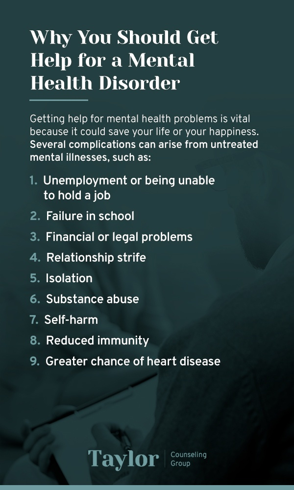 Why You Should Get Help for a Mental Health Disorder
