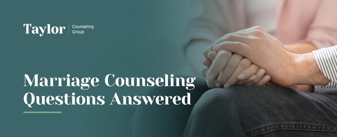 Marriage counseling questions answered