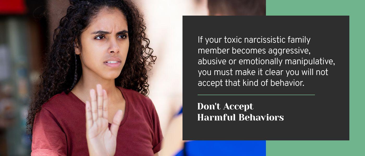 dont accept harmful behavior