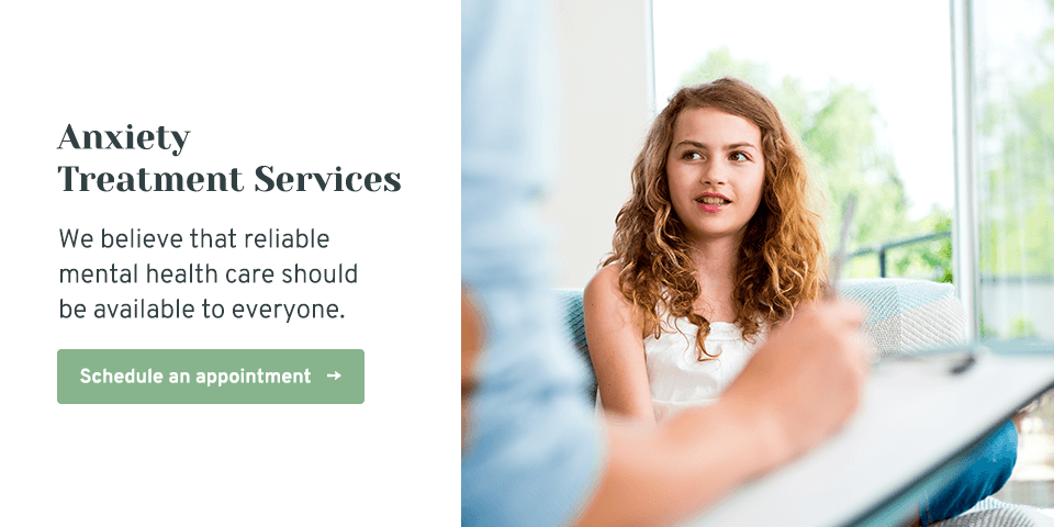 Anxiety Treatment Services